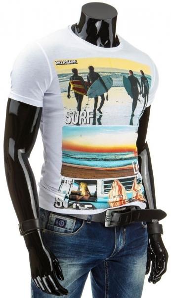 Vyriški marškinėliai SURF (Balti) Paveikslėlis 1 iš 4 310820033480