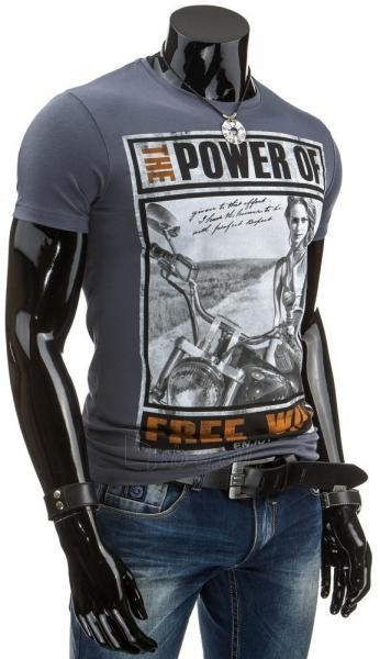 Vyriški marškinėliai THEPOWEROF (Grafitiniai) Paveikslėlis 1 iš 4 310820033491