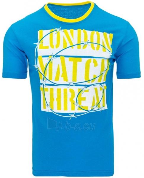 Vyriški marškinėliai THREAT (Turikis) Paveikslėlis 1 iš 5 310820033475