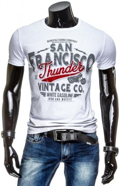 Vyriški marškinėliai Thunder (Balti) Paveikslėlis 1 iš 4 310820034845