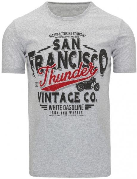 Vyriški marškinėliai Thunder (Pilki) Paveikslėlis 1 iš 5 310820033522
