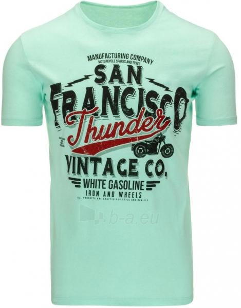 Vyriški marškinėliai Thunder (Žali) Paveikslėlis 1 iš 5 310820033523