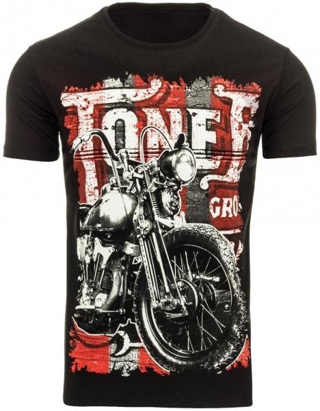 Vyriški marškinėliai ToneB (Juodi) Paveikslėlis 1 iš 5 310820033652