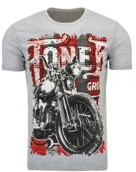 Vyriški marškinėliai ToneB (Pilki) Paveikslėlis 1 iš 5 310820033655