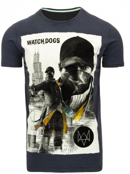 Vyriški marškinėliai WATCHDOGS (Juodi) Paveikslėlis 1 iš 5 310820033468