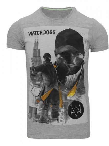 Vyriški marškinėliai WATCHDOGS (Pilki) Paveikslėlis 1 iš 5 310820033466