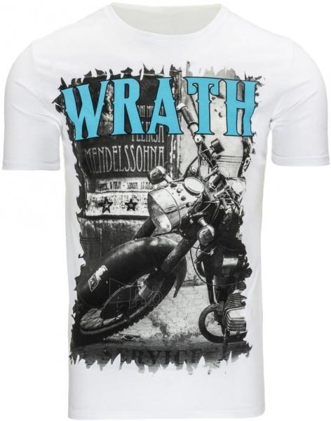 Vyriški marškinėliai Wrath (Balti) Paveikslėlis 1 iš 5 310820033643