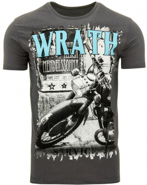 Vyriški marškinėliai Wrath (Grafitiniai) Paveikslėlis 1 iš 5 310820033644