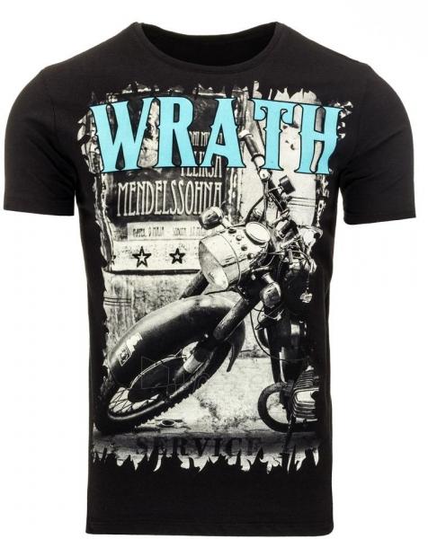 Vyriški marškinėliai Wrath (Juodi) Paveikslėlis 1 iš 5 310820033642