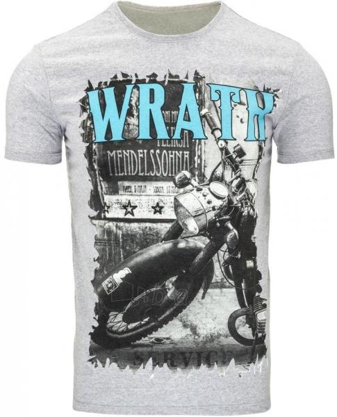 Vyriški marškinėliai Wrath (Pilki) Paveikslėlis 1 iš 5 310820033645