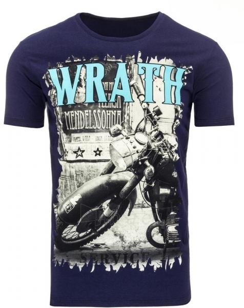Vyriški marškinėliai Wrath (Tamsiai mėlyni) Paveikslėlis 1 iš 5 310820033646