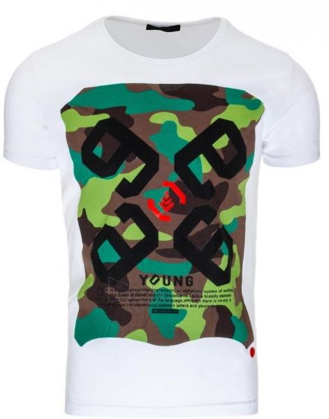 Vyriški marškinėliai Young (Balti) Paveikslėlis 1 iš 1 310820033718