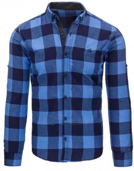 Vyriški marškiniai Abeer (mėlyni) Paveikslėlis 1 iš 2 310820045473