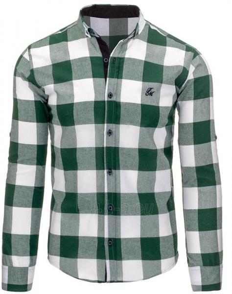 Vyriški marškiniai Abeer (žali) Paveikslėlis 1 iš 3 310820045472