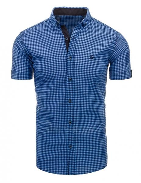Vyriški marškiniai Abra (mėlynos spalvos) Paveikslėlis 1 iš 2 310820034766