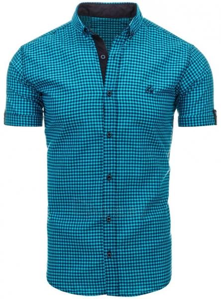 Vyriški marškiniai Abra (turkio spalvos) Paveikslėlis 1 iš 2 310820034767