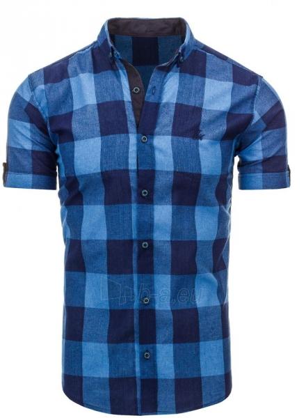 Vyriški marškiniai Adelio (mėlynos spalvos) Paveikslėlis 1 iš 2 310820034746