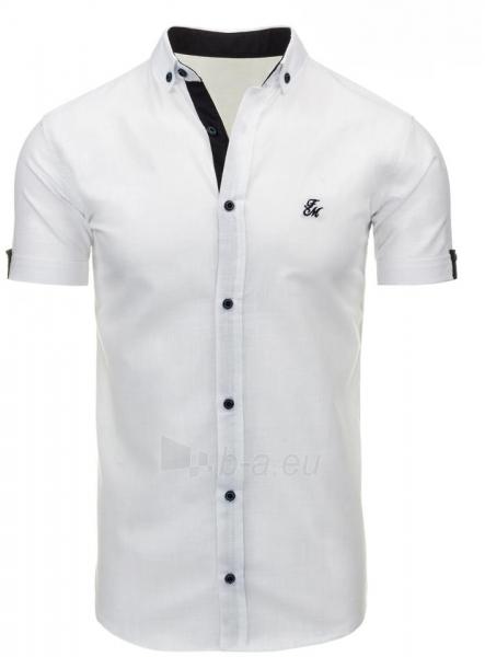 Vyriški marškiniai Adit (baltos spalvos) Paveikslėlis 1 iš 2 310820034744