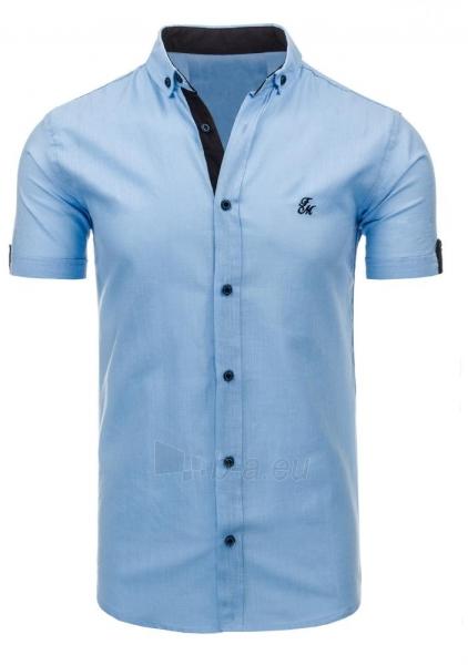 Vyriški marškiniai Adit (mėlynos spalvos) Paveikslėlis 1 iš 2 310820034764