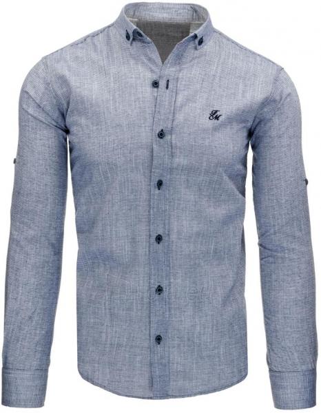 Vyriški marškiniai Aslan (tamsiai mėlyni) Paveikslėlis 1 iš 1 310820045469