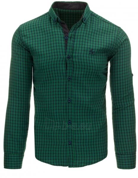 Vyriški marškiniai Aslan (žali) Paveikslėlis 1 iš 2 310820045467