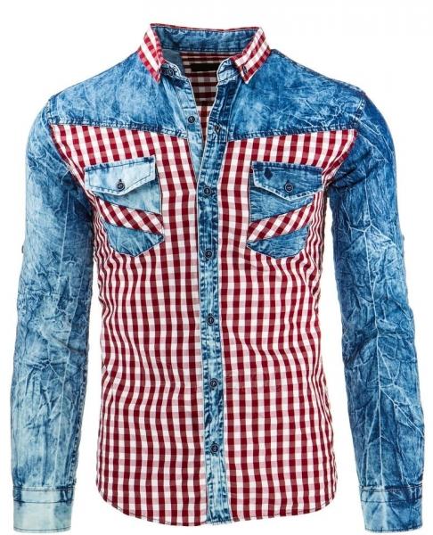 Vyriški marškiniai Asotin (Raudoni) Paveikslėlis 1 iš 2 310820034600