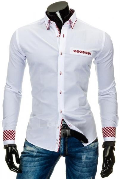 Vyriški marškiniai Bloxom (Balti) Paveikslėlis 1 iš 6 310820034690