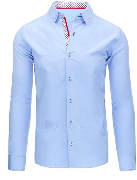 Vyriški marškiniai Branson (Mėlyni) Paveikslėlis 1 iš 8 310820034478