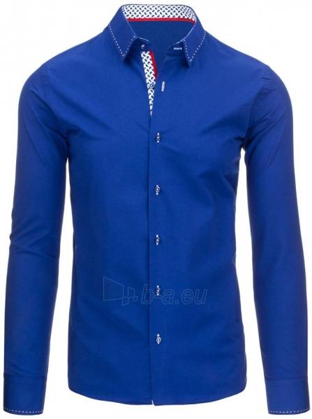 Vyriški marškiniai Breckenridge (Mėlyni) Paveikslėlis 1 iš 8 310820034477