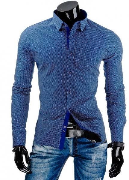 Vyriški marškiniai Burlington (Tamsiai mėlyni) Paveikslėlis 1 iš 6 310820034476