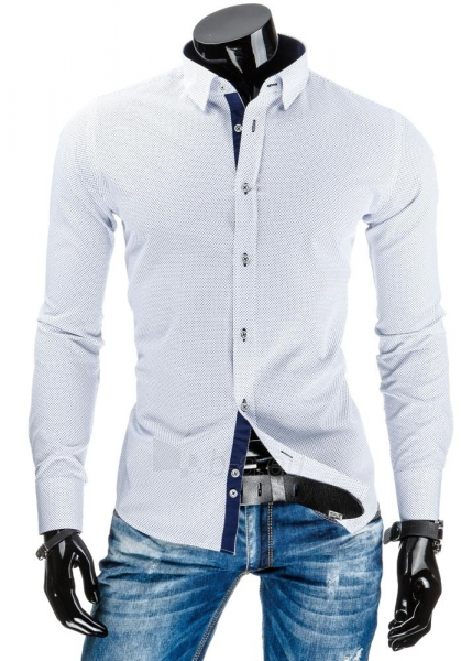 Vyriški marškiniai Calhan (Balti) Paveikslėlis 1 iš 6 310820034475