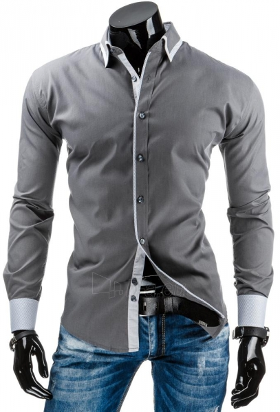Vyriški marškiniai Cedar (Pilki) Paveikslėlis 1 iš 6 310820036993