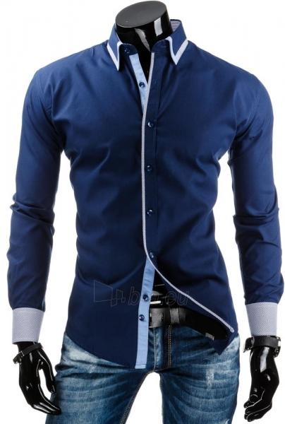 Vyriški marškiniai Cedar (Tamsiai mėlyni) Paveikslėlis 1 iš 6 310820031758