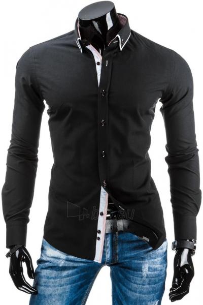 Vyriški marškiniai Chester (Juodi) Paveikslėlis 1 iš 6 310820034459