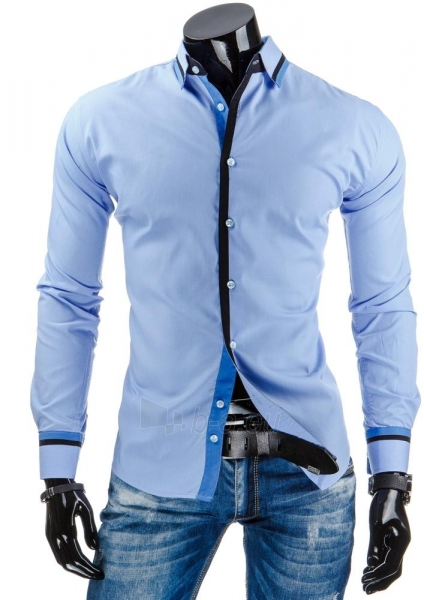 Vyriški marškiniai Cibolo (Mėlyni) Paveikslėlis 1 iš 6 310820036988