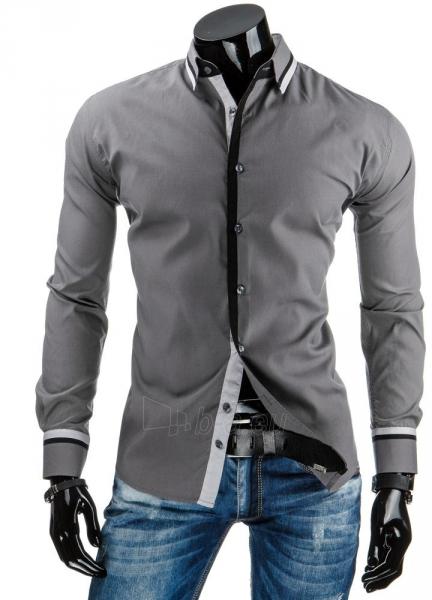Vyriški marškiniai Cibolo (Pilki) Paveikslėlis 1 iš 6 310820043640
