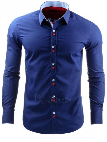 Vyriški marškiniai Cistern (Tamsiai mėlyni) Paveikslėlis 1 iš 2 310820031728