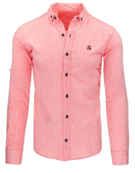 Vyriški marškiniai Evy (rožinės spalvos) Paveikslėlis 1 iš 3 310820045601