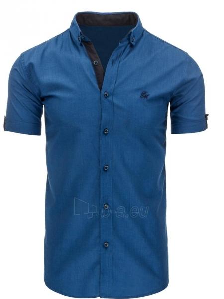 Vyriški marškiniai Gibbs (Mėlyni) Paveikslėlis 1 iš 2 310820034752
