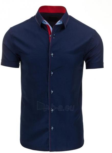 Vyriški marškiniai Gibbs (Tamsiai mėlyni) Paveikslėlis 1 iš 2 310820034749