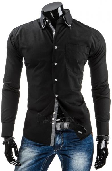 Vyriški marškiniai Glendale (Juodi) Paveikslėlis 1 iš 6 310820034437