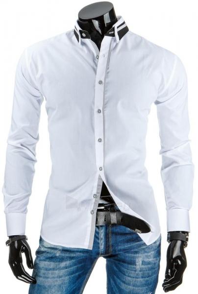 Vyriški marškiniai Globe (Balti) Paveikslėlis 1 iš 6 310820034444