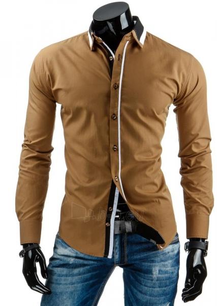 Vyriški marškiniai Hayden (Karameliniai) Paveikslėlis 1 iš 6 310820034441