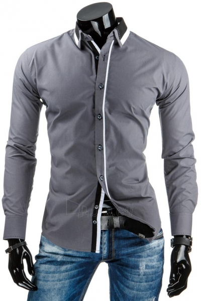 Vyriški marškiniai Hayden (Pilka) Paveikslėlis 1 iš 6 310820031633