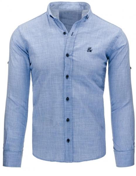 Vyriški marškiniai Jacen (mėlynos spalvos) Paveikslėlis 1 iš 2 310820043721