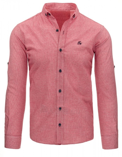 Vyriški marškiniai Jacen (raudonos spalvos) Paveikslėlis 1 iš 2 310820043716