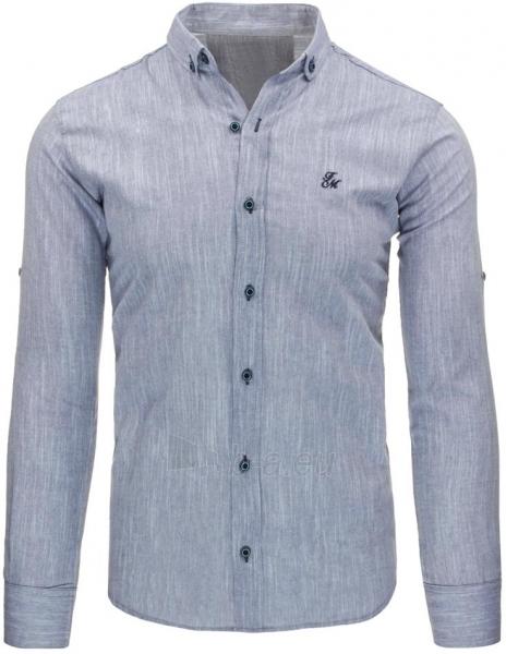 Vyriški marškiniai Jacen (šviesiai pilkos spalvos) Paveikslėlis 1 iš 2 310820043713