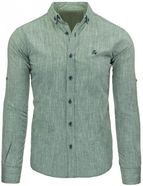 Vyriški marškiniai Jacen (žalios spalvos) Paveikslėlis 1 iš 2 310820043719