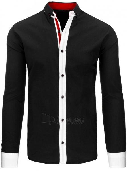Vyriški marškiniai Karley (juodos spalvos) Paveikslėlis 1 iš 2 310820045582