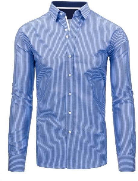 Vyriški marškiniai Kem (mėlyni) Paveikslėlis 1 iš 3 310820046767